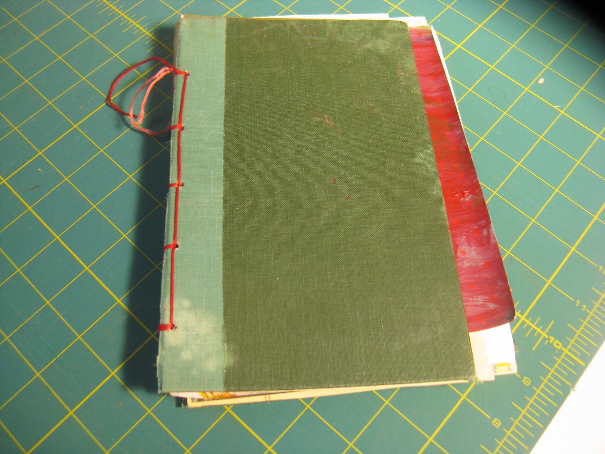 Art Journal - Binding fisnished