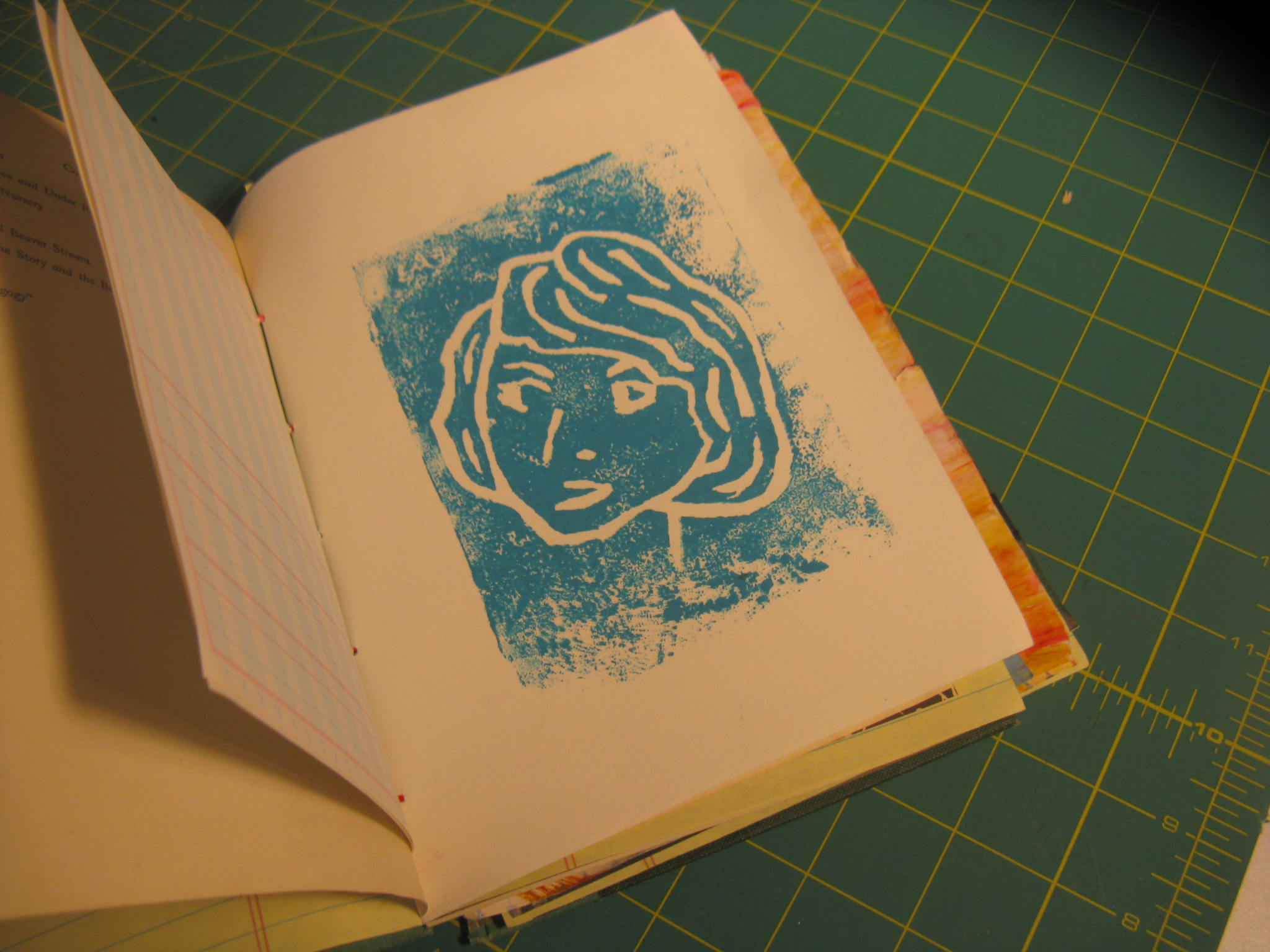 Art Journal Print