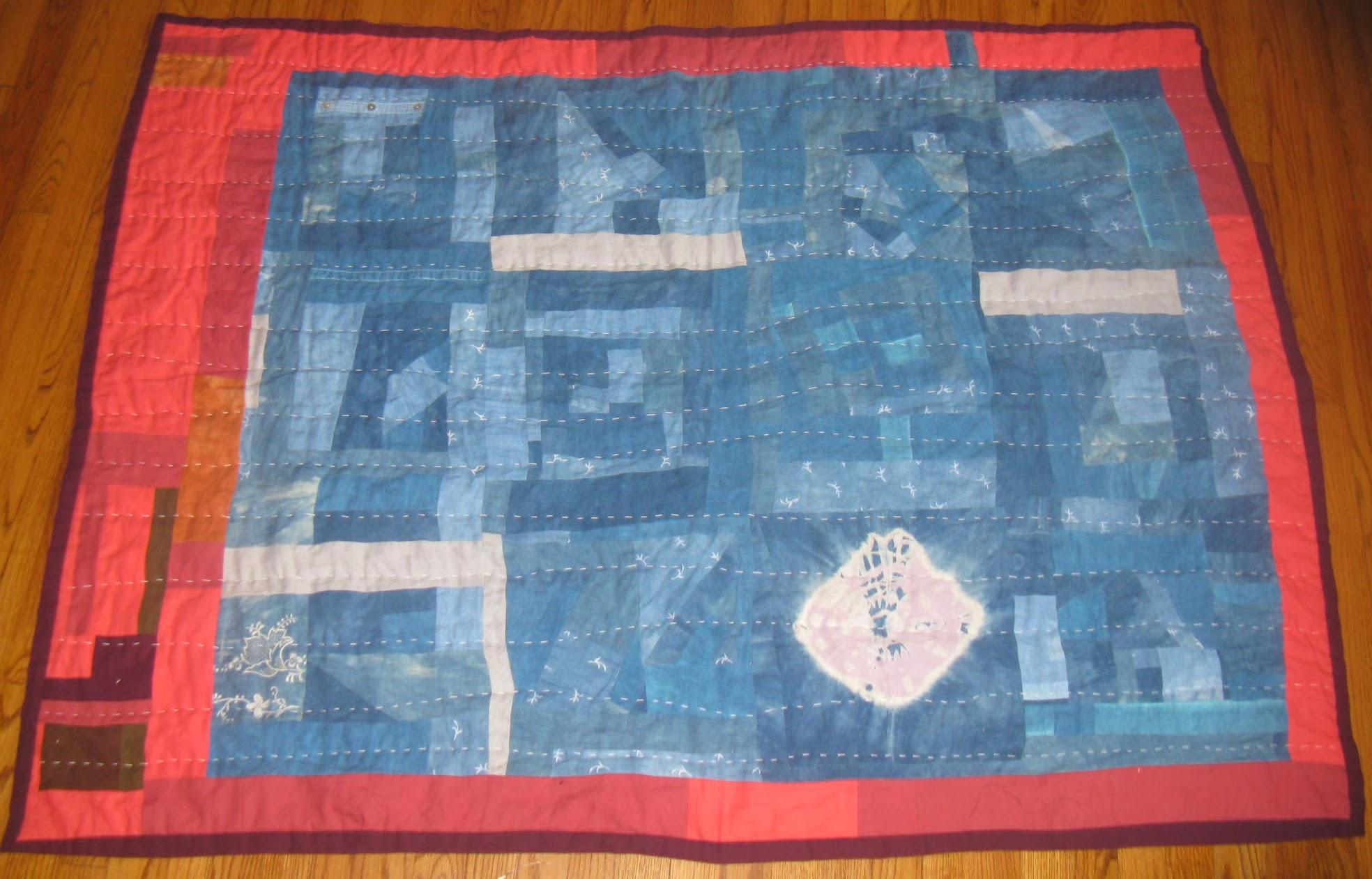 Linen Quilt Front