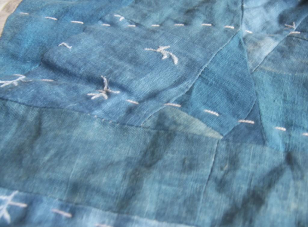 Linen Quilt Detail