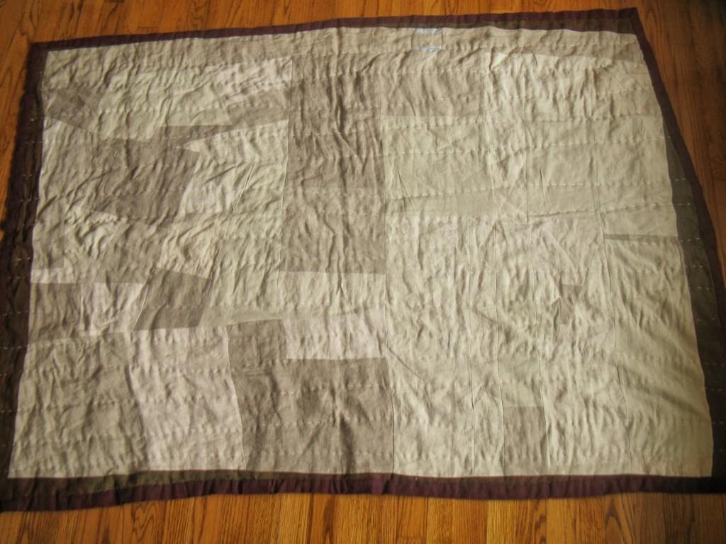 Linen Quilt Back
