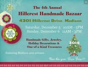 Hillcest postcard December Sale