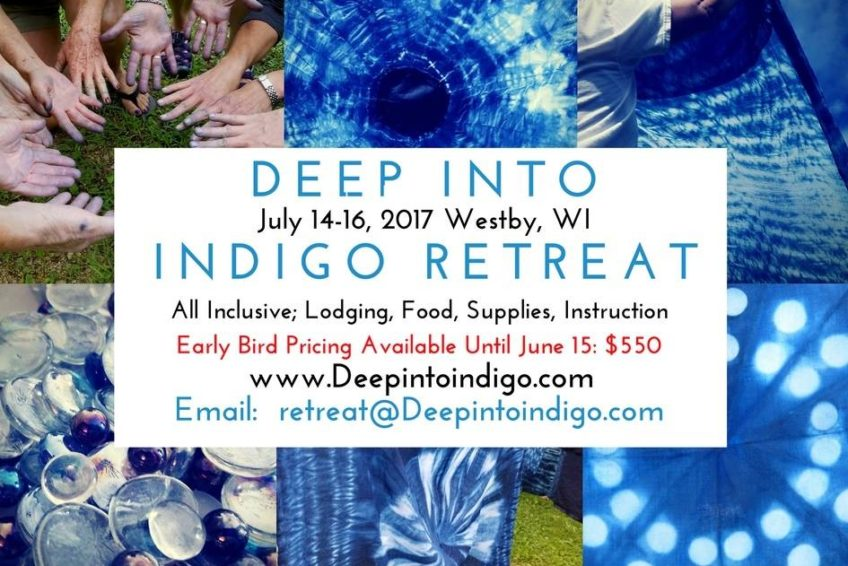 Deep Into Indigo Retreat Westby Wisconsin Shibori