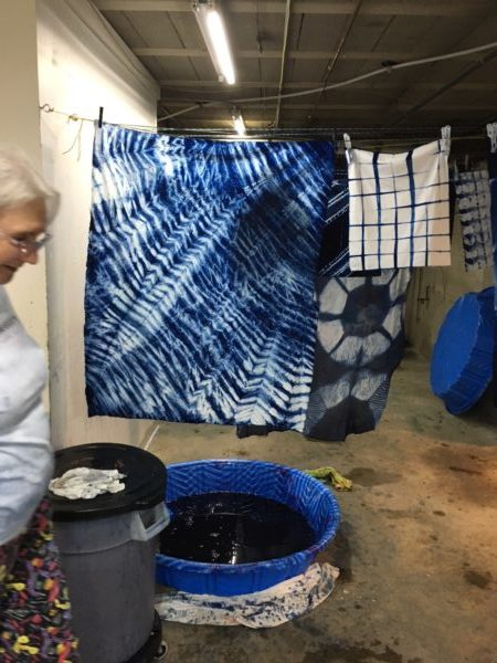 Indigo Dyeing at The Electric Needle